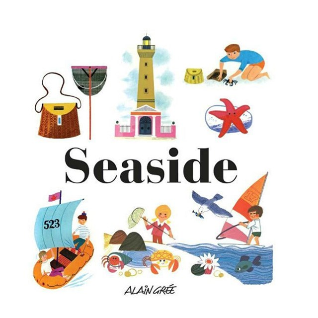 "For the little book worm. <br><bR> Seaside by Alaine Gree, $24.95, <a href=""http://www.mymessyroom.com.au/products/seasidebyalaingree"">mymessyroom.com.au </a>"