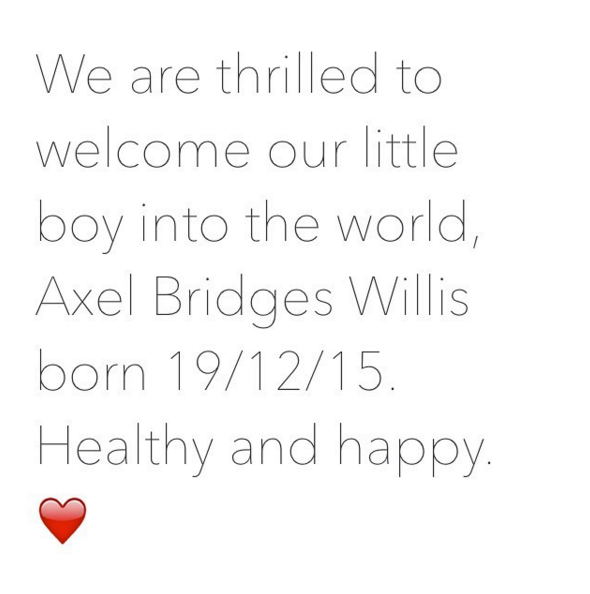 Congratulations to The Biggest Loser trainer Michelle Bridges and Steve Willis on the arrival of their baby boy. We'd say that's a pretty swell early Christmas present.