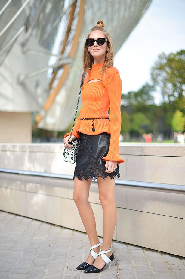 Super-star blogger Chiara Ferragni (of the Blonde Salad) inspires her millions of followers with her bold, colourful and always original style.