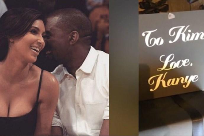 Kanye West Gave Kim Kardashian 150 Presents For Christmas