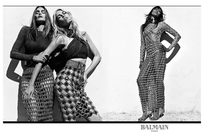 Balmain Reunites 90s Supermodels in the Campaign of Our Dreams