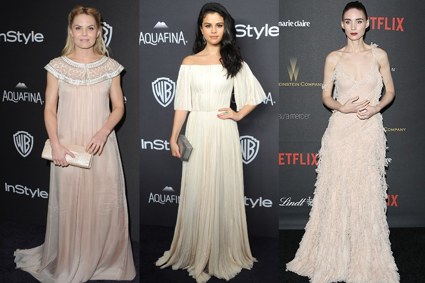 <strong>LITTLE HOUSE ON THE PRAIRIE.</strong> <p> <p> Jennifer Morrison, Selena Gomez and Rooney Mara.