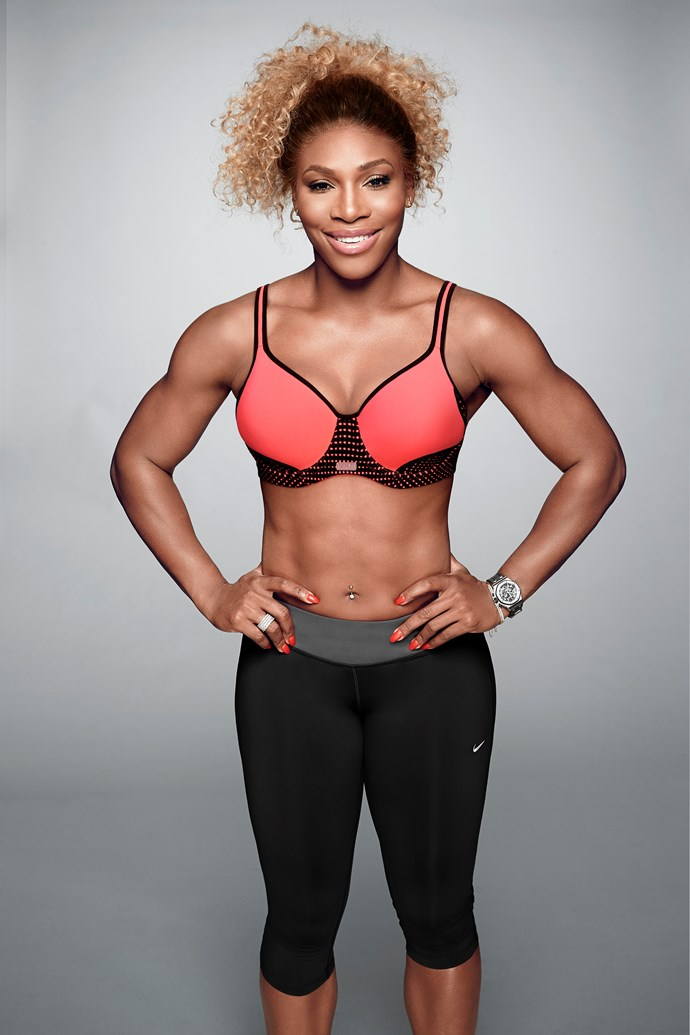 Serena Williams for Berlei