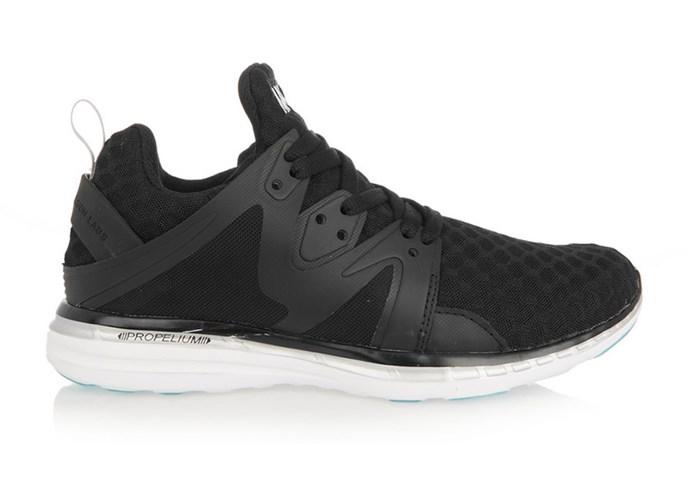 """Sneakers, $335, Athletic  Propulsion Labs, <a href=""""http://www.net-a-porter.com/au/en/product/650555/athletic_propulsion_labs/ascend-mesh-and-rubber-sneakers"""">net-a-porter.com/au</a>"""