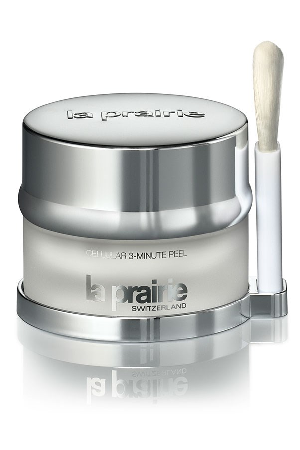"""<a href=""""http://www.laprairie.com.au/au/cellular-3-minute-peel/95790-00189-36.html""""><strong>Cellular 3 Minute Peel, $255, La Prairie, laprairie.com.au </strong></a> <br><br> Put it on, make a cup of tea, then remove, for skin that is more fresh and smooth than a baby's bottom."""