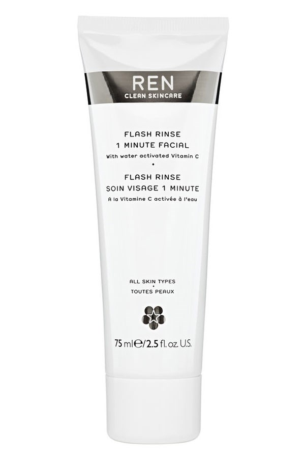 """<strong> <a href=""""http://mecca.com.au/ren/flash-rinse-1-minute-facial/I-019288.html?cgpath=skincare-treatment-scrubsexfoliators"""">Flash Rinse 1 Minute Facial, $67, Ren, mecca.com.au</a></strong> <br><br> Radiant, smooth and refined skin in 60 seconds? We're in."""