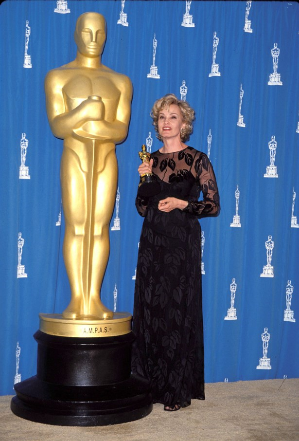 Jessica Lange rocked black lace in 1994.
