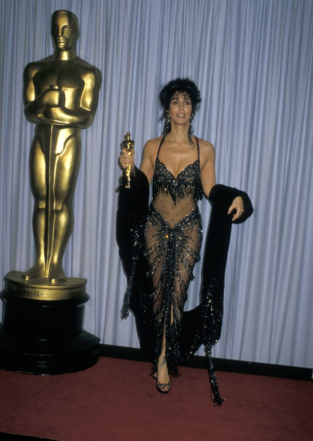 Cher's 1987 dress was very Cher.