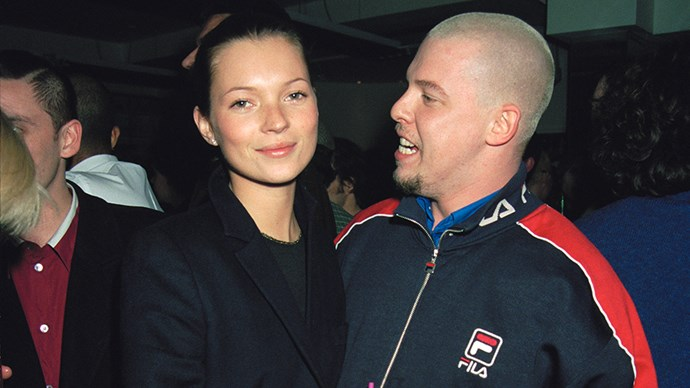 McQueen and Kate Moss
