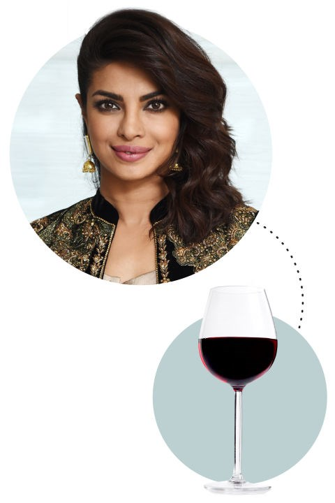 "<strong>Priyanka Chopra</strong><p> <p> ""Pajamas, bed, blankie, glass of red wine, laptop. Right now I'm actually watching Empire season two! I love the show. I love all the characters. I love how unapologetic they are. I love the music. I love everything about it."""