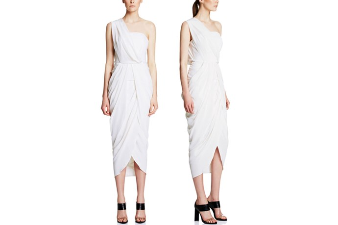 "<a href=""http://www.manningcartell.com.au/all/dresses/rhine-maiden-dress-white.html"">Manning Cartell Rhine Maiden Dress</a>, $599."