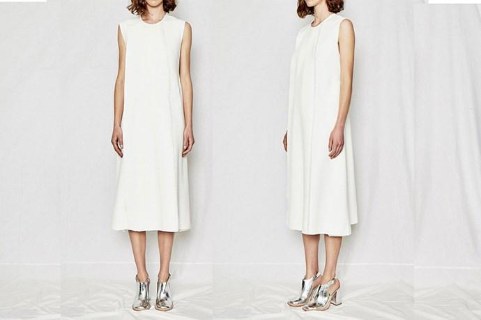 "<a href=""http://www.elleryland.com/resort-16/ready-to-wear/dresses/dolce-vita-shift-dress-1-1"">Ellery Dolce Vita Shift Dress</a>, $1,250."