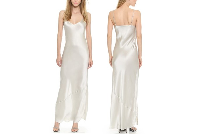 "<a href=""https://www.shopbop.com/maxi-cami-dress-nili-lotan/vp/v=1/1566915091.htm?folderID=2534374302063518&fm=other-shopbysize-viewall&os=false&colorId=10192"">Nili Lotan Maxi Cami Dress</a>, $495."