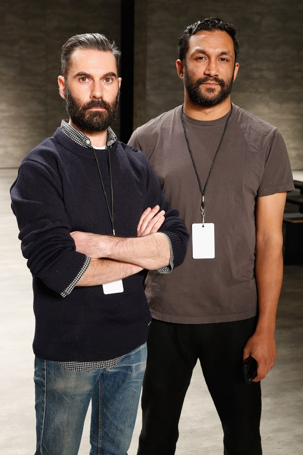 TOME designers Ramon Martin and Ryan Lobo.