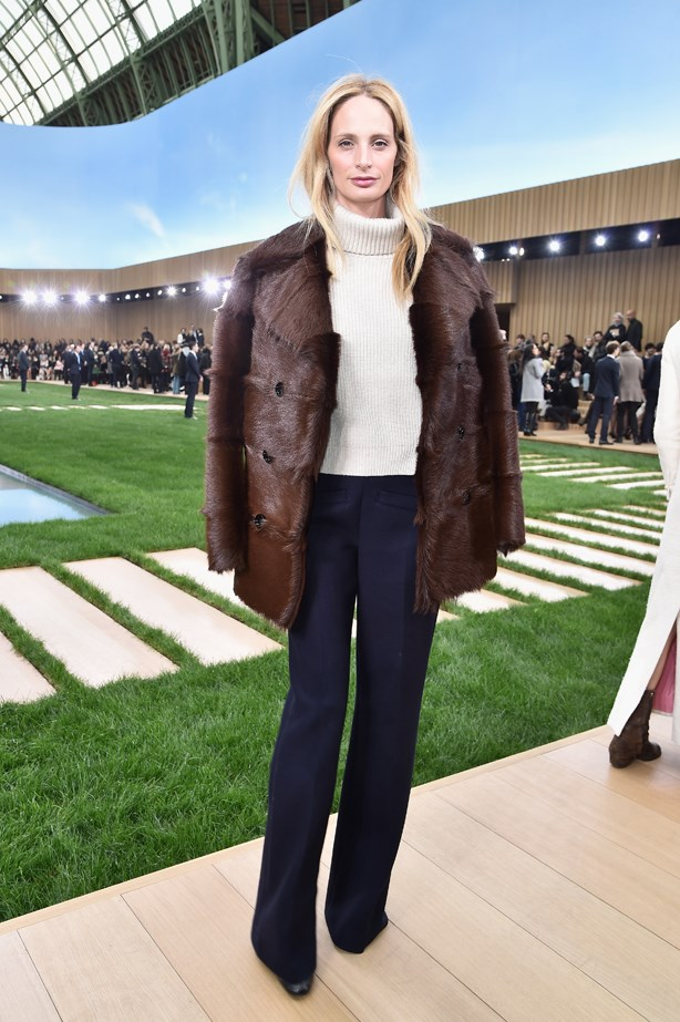 Lauren Santo Domingo at Chanel.