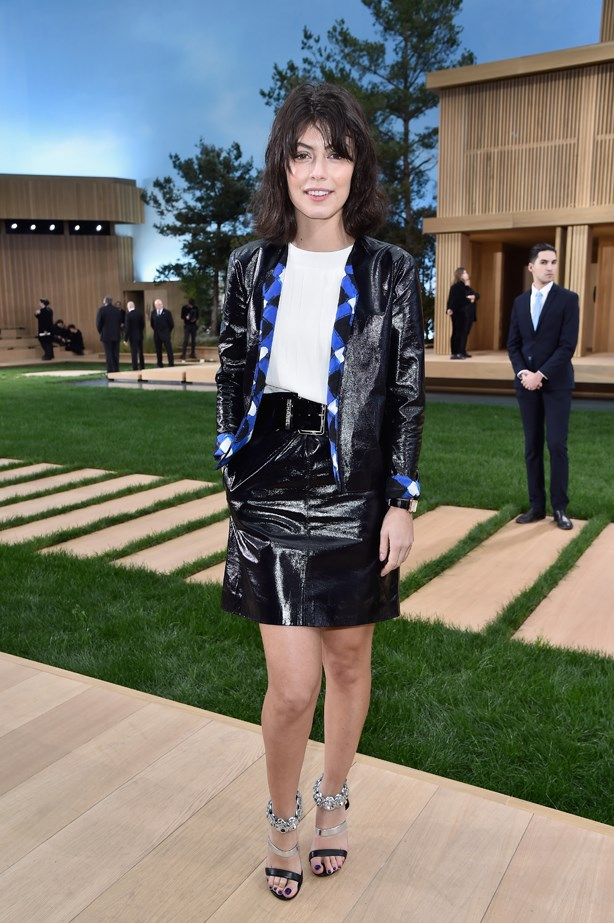 Alessandra Mastronardi at Chanel.