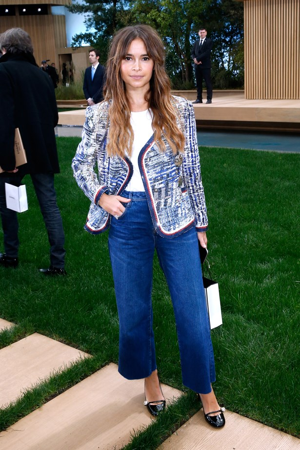 Miroslava Duma at Chanel.