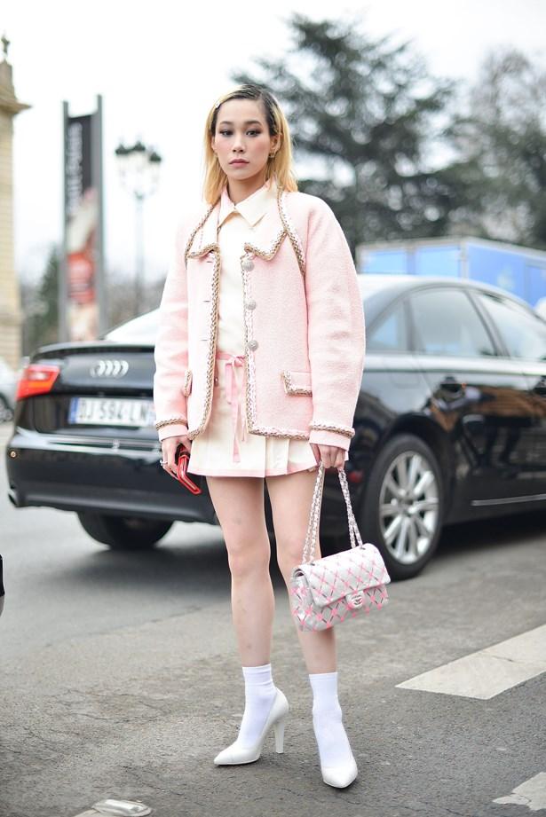 Mademoiselle Yulia at Chanel.