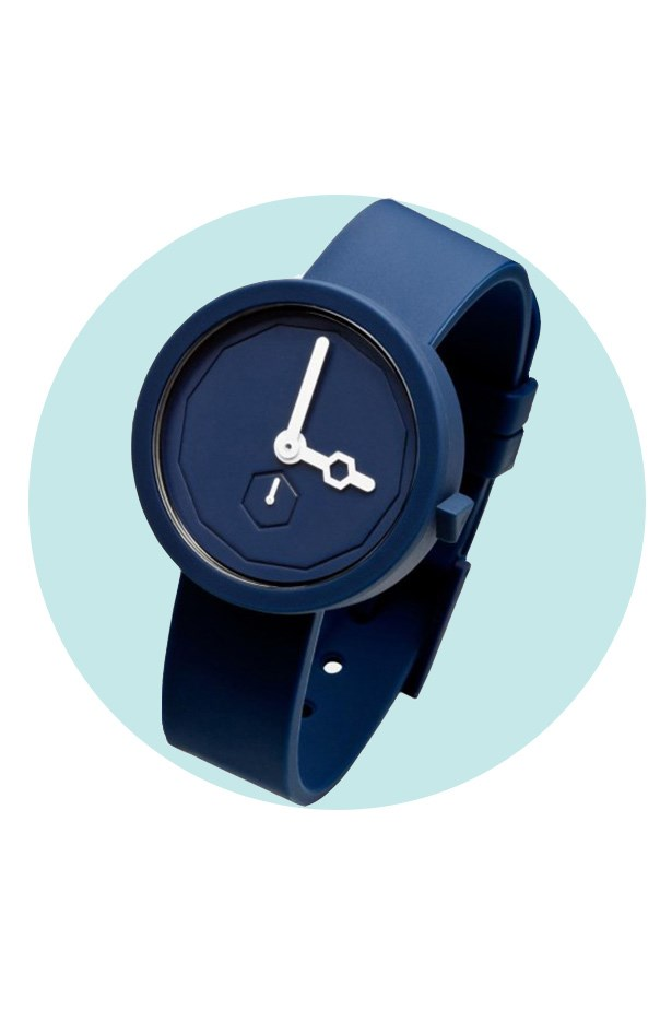 So he doesn't have an excuse to be late for date night ever again. <br><br> Watch, $139, AÃRK Collective, designstuff.com.