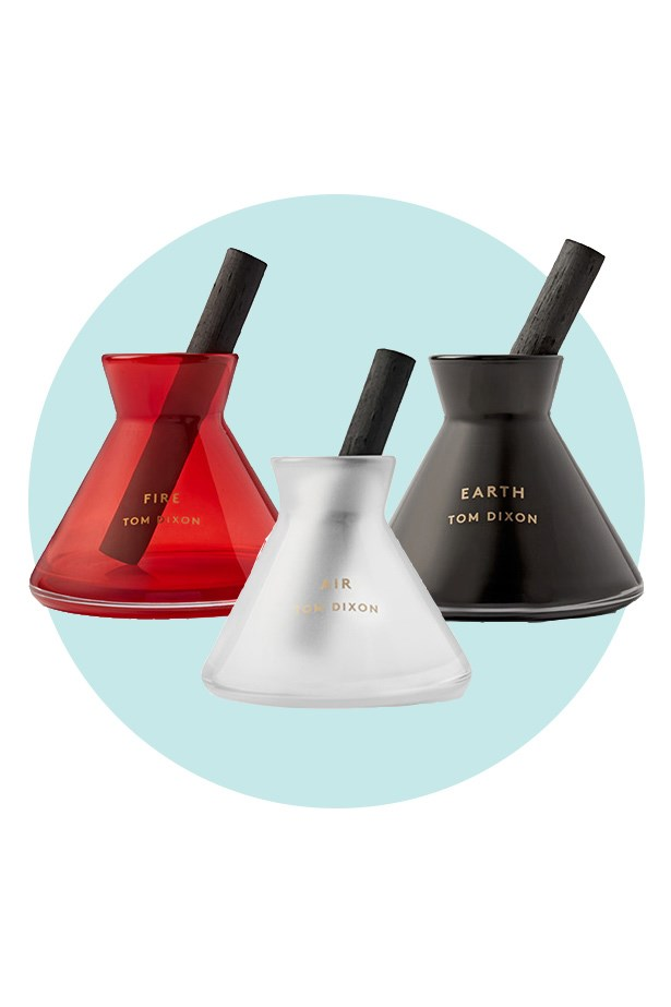 These alchemy inspired diffusers are to men what scented candles and flowers are to women. <br><br> Diffuser, from $148, Tom Dixon, mrporter.com