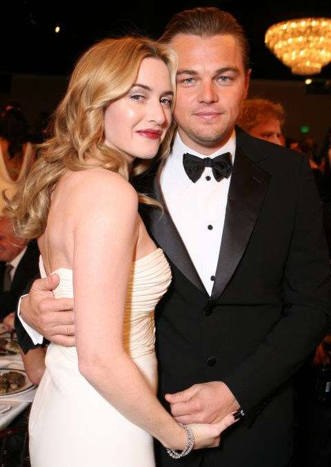 At the Golden Globes in 2007.
