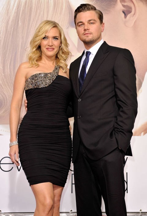 At the premiere of Revolutionary Road in 2008.