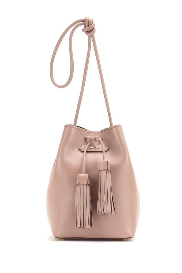 """Tom Ford <a href=""""http://www.mytheresa.com/en-au/bucket-small-leather-bucket-bag.html?catref=category"""">Bucket Small leather bucket bag</a>, $1,480."""