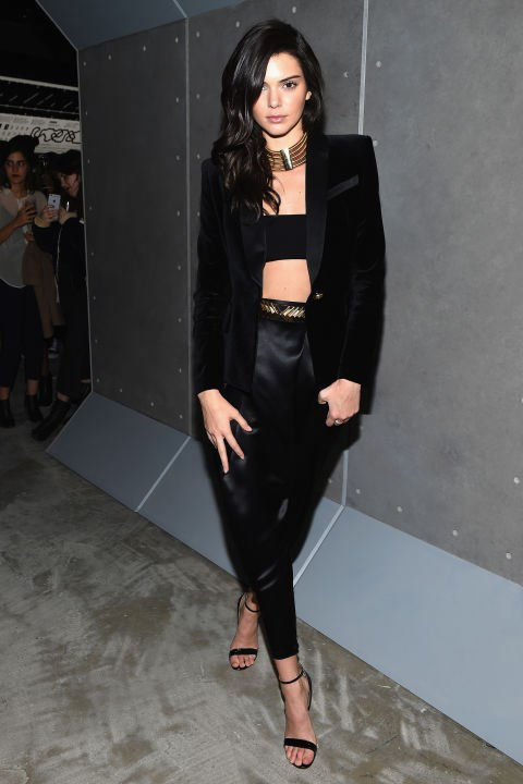 "<strong>Kendall Jenner</strong><p> <p> Harry and Kendall were first linked together in 2013, but apparently things fizzled out and Kendall urged that they were ""just friends."" However, the two seem to have rekindled the flame, as they were recently spotted cozily ringing in the New Year on a yacht."