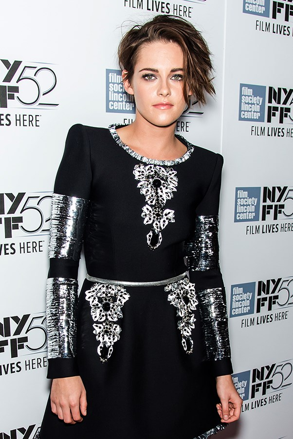 Kristen Stewart at the Clouds of Sils Maria screening at the New York Film Festival 2014
