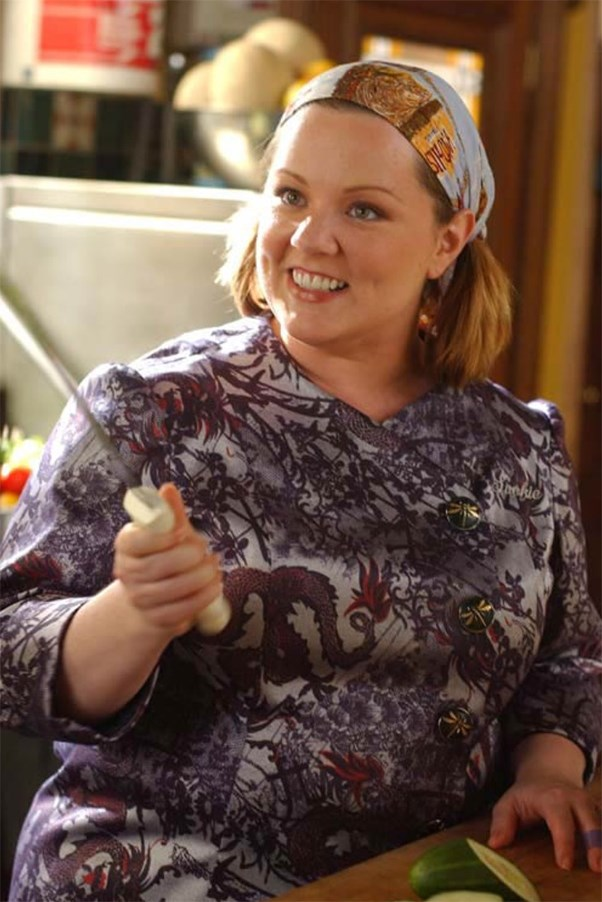 Sookie St James portrayed by Melissa McCarthy on Gilmore Girls