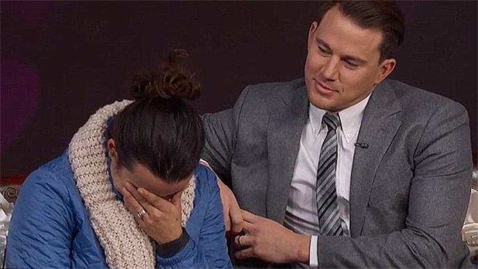 Channing Tatum on the Jimmy Kimmel Show
