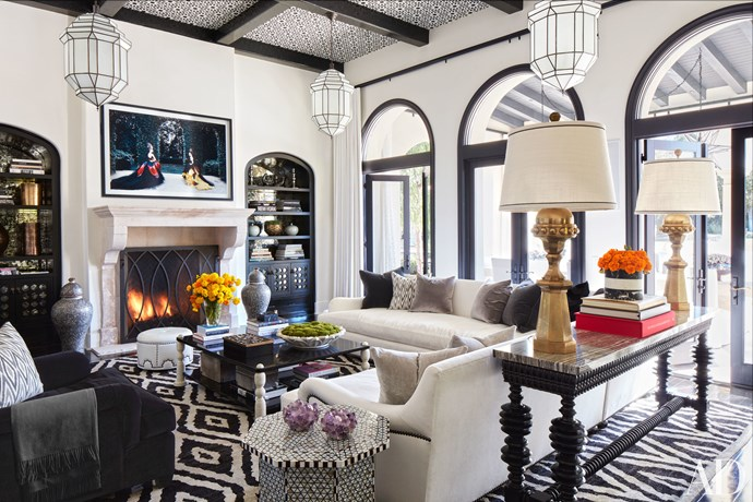 "Image by Roger Davis via <a href=""http://www.architecturaldigest.com/story/kourtney-khloe-kardashian-house-tour"">Architectural Digest</a>."