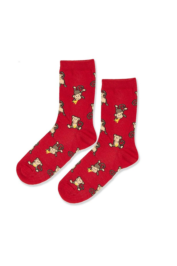 "Monkey socks, $7, <a href=""http://www.topshop.com/webapp/wcs/stores/servlet/ProductDisplay?Ntt=monkey&storeId=12556&productId=23073505&urlRequestType=Base&categoryId=&langId=-1&productIdentifier=product&catalogId=33057"">Topshop</a>"