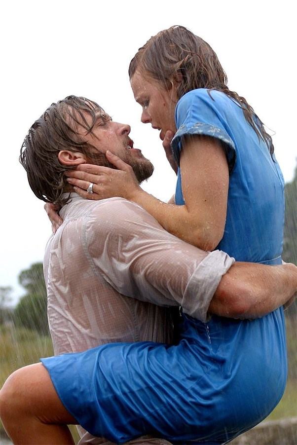 Ryan Gosling and Rachel McAdams as Noah and Allie in 'The Notebook'