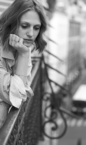 Fashion Editor Paris Balcony Dee Jenner Shirt Saint Laurent Jeans French Style