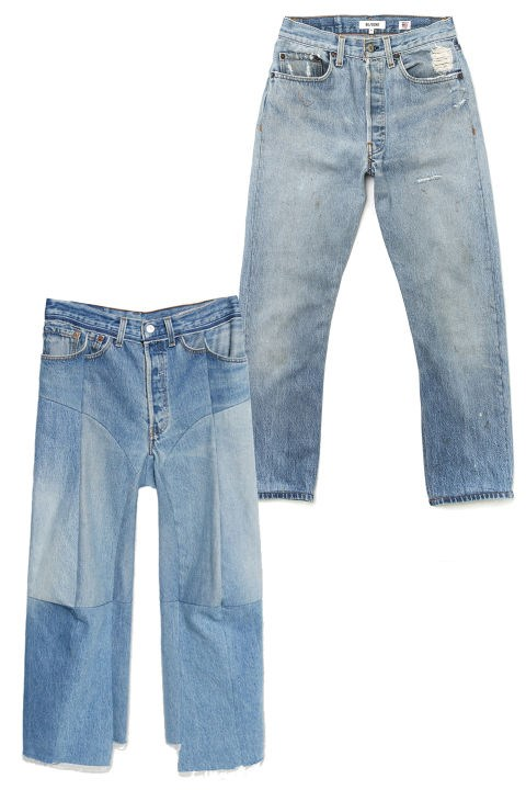<em><strong>THE NEW IT JEANS</strong></em><p> <p> All the cool girls wear them. If they're Extra Fancy Cool Girls, they'll pay premium for the brand du jour, Vetements. <p> Re/Done | Levi's High Rise Cropped, $252; shopredone.com <p> Vetements Moto Jeans, $1,565; lagarconne.com