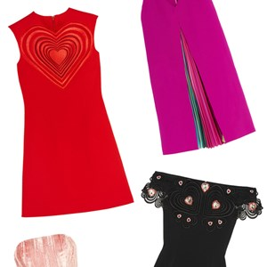 Valentine's Day dresses.