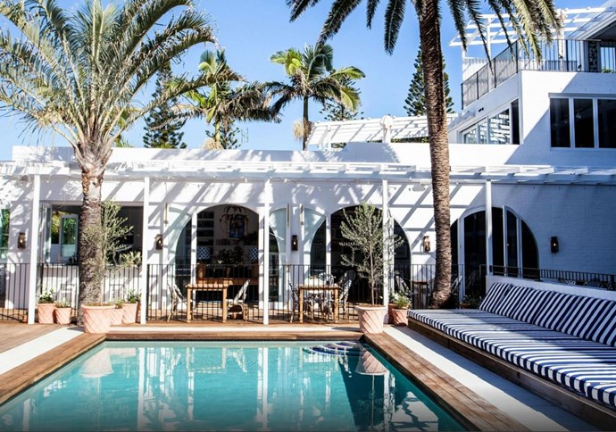 Halcyon House, Australia: Smack bang between Byron Bay and the Gold Coast lies this new, boutique hotel. With eye-catching interiors by Anna Spiro of Spiro & Black and a vibe that conjures up childhood memories of coastal road trips and motel stop-overs, it's next on our to-do list.
