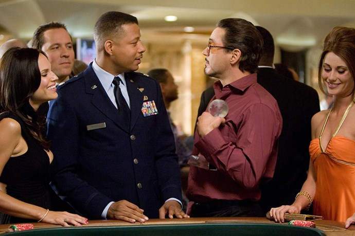 Ever wonder why Terrence Howard was in the first Iron Man but not the others? Rumour has it that his clash with Robert Downey Jr over pay cheques pushed him over the edge and he didn't return for any of the blockbuster sequels.