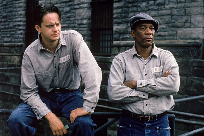 Even though they escaped to Mexico together, Morgan Freeman and Tim Robbins were not best of buds on set.