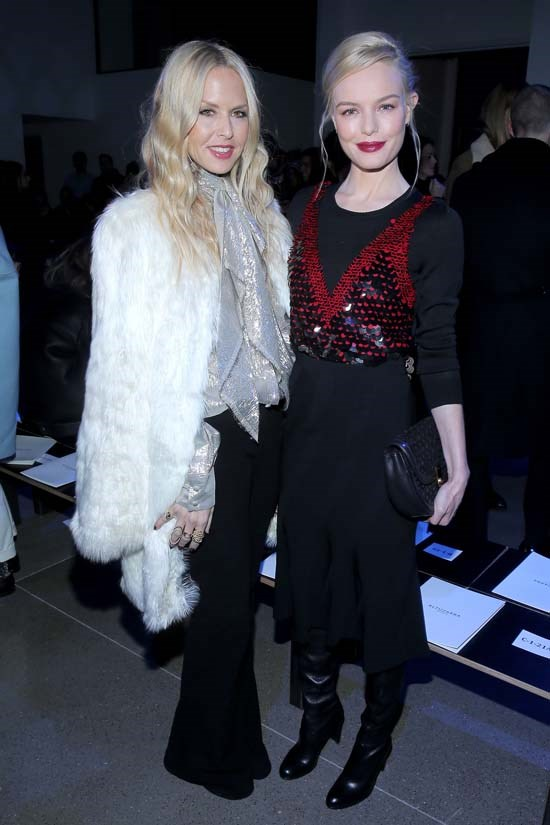 Rachel Zoe and Kate Bosworth at Altuzarra AW16