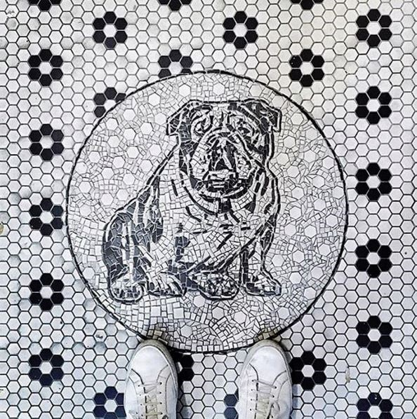 """<p><strong>@ihavethisthingwithfloors</strong></p> <p>""""When feet meet nice floors"""" – a combination of beautiful shoes and pretty floors.</p>"""