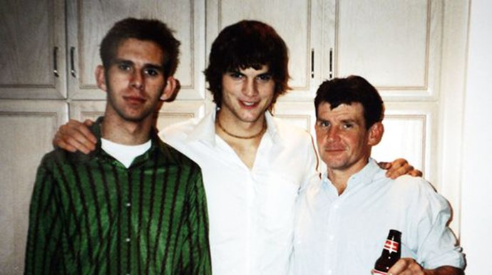 <p><strong>Ashton and Michael Kutcher</strong> (left)</p> <p>Ashton's twin brother Michael currently lives in Iowa. From a young age he battled with cerebral palsy and had a heart transplant at 13, reports state that Ashton stood by his brother's side throughout his illness.</p>