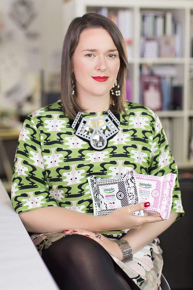 The Brit-born designer chats muses, colour and her first beauty collaboration.