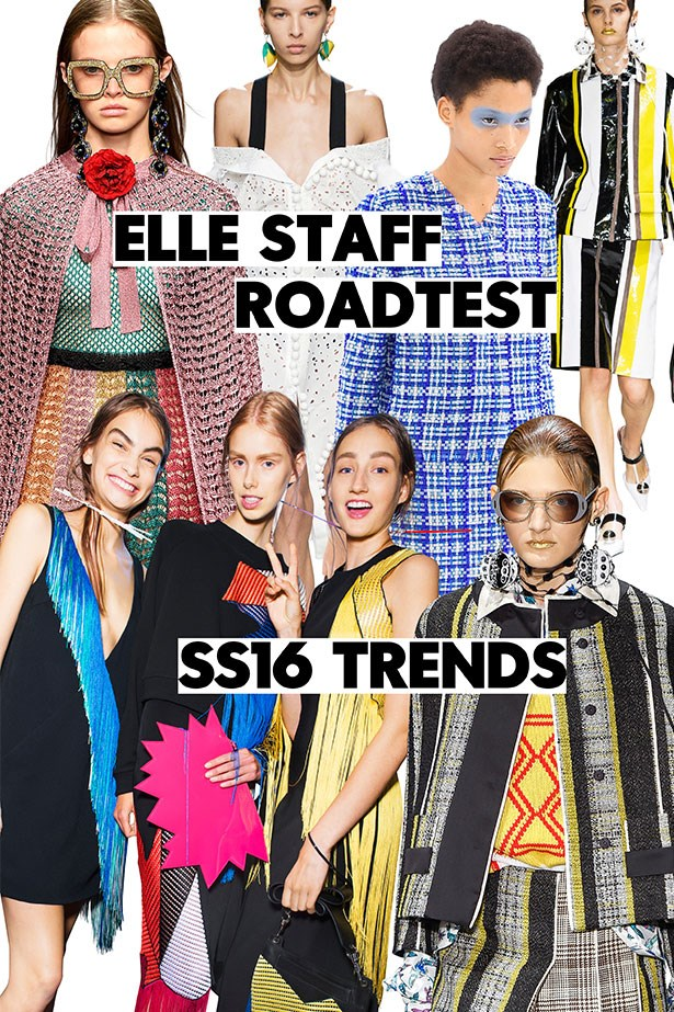 ELLE Staff Road Test The Trends Of SS16