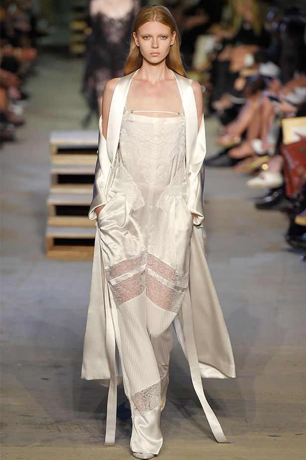 Trend: Boudoir dressing<p> <p> Inspiration: Givenchy SS16