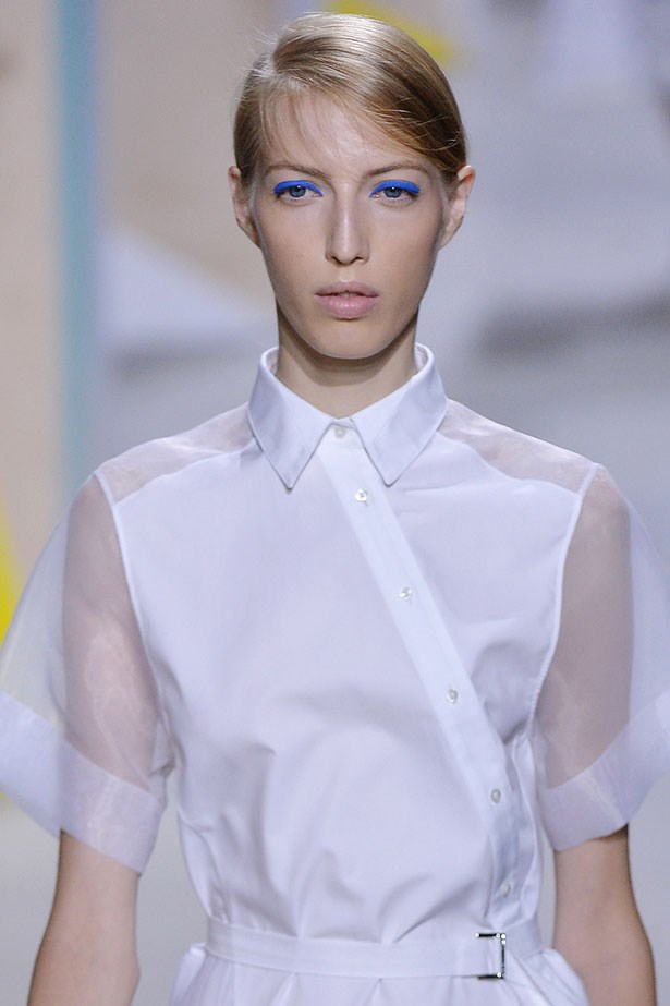 Trend: Blue-eyed baby<p> <p> Inspiration: Hugo Boss SS16