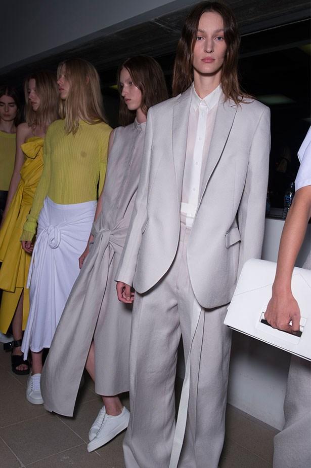 Trend: Summer suiting<p> <p> Inspiration: Joseph SS16