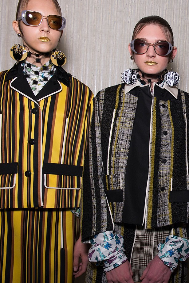 Trend: Bold stripes<p> <p> Inspirtation: Prada SS16