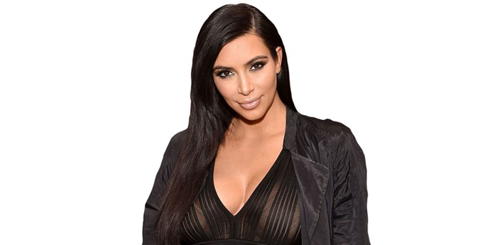 Kim Kardashian West.